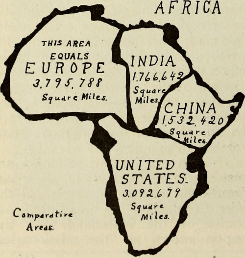 Impact of map projections. Source: http://makingmapsblog.tumblr.com/post/97906950351/source-comparative-map-africa-vs-us-china