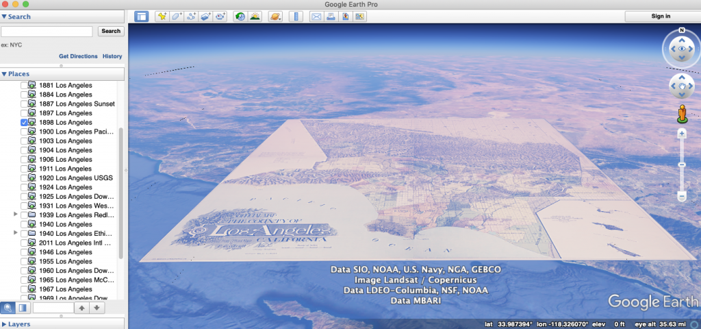 Google Earth Screenshot