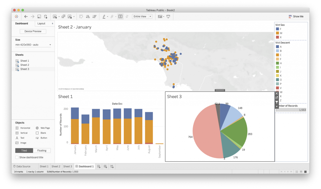 mapping in tableau
